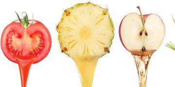 porcje warzyw i owoców